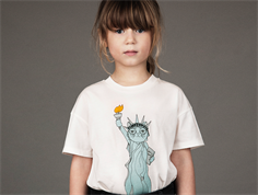 Mini Rodini t-shirt white liberty