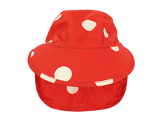 Mini Rodini solhat dot red