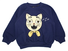 Mini Rodini sweatshirt navy cat