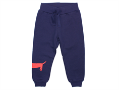 Mini Rodini sweatpants dog navy