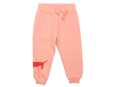 Mini Rodini sweatpants dog pink