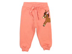 Mini Rodini sweatpants donkey pink