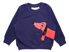 Mini Rodini sweatshirt dog navy