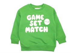 Mini Rodini sweatshirt game green