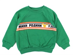 Mini Rodini sweatshirt Moscow green