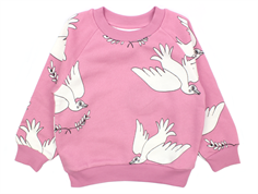 Mini Rodini sweatshirt peace pink