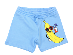 Mini Rodini sweatshorts banana light blue