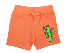 Mini Rodini sweatshorts cactus orange