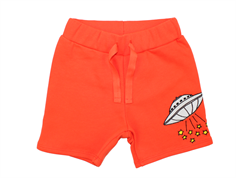 Mini Rodini sweatshorts ufo red