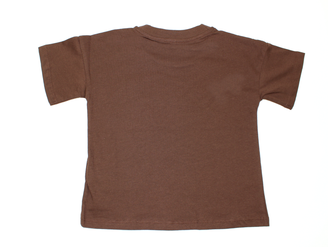46749d3d Mini Rodini t-shirt solid brown | Børnetøj | 219,90.-