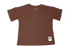 Mini Rodini t-shirt Solid brown