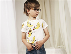 Mini Rodini t-shirt banana offwhite