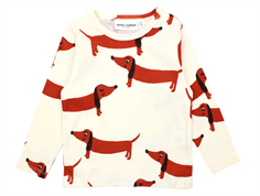 Mini Rodini t-shirt dog offwhite