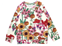 Mini Rodini t-shirt garden off white