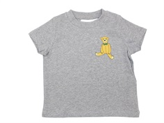 Mini Rodini t-shirt teddy grey melange