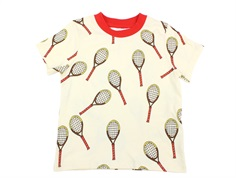 Mini Rodini t-shirt tennis offwhite
