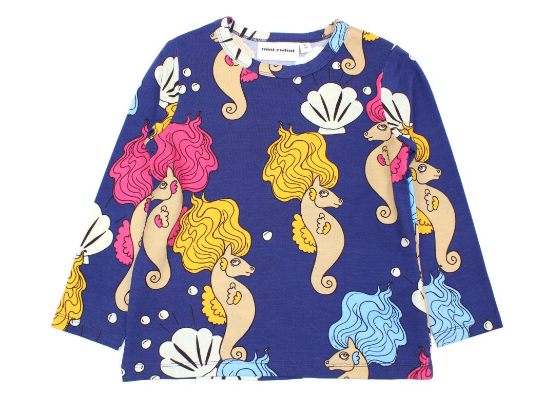 7b320655bf02 Mini Rodini LS t-shirts navy | Seahorse | 339,90.-