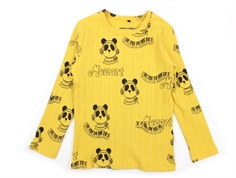 Mini Rodini t-shirt yellow mozart