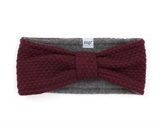 MP Oslo pandebånd wine red rose uld/fleece