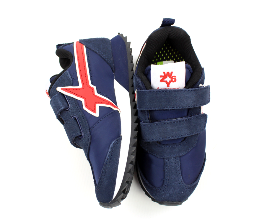 362f432a3b7e Wizz by Naturino sneakers navy rosso