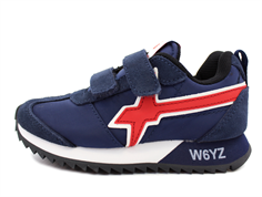 Wizz by Naturino sneakers navy/rosso