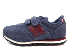 New Balance sneaker blue/bordo med velcro