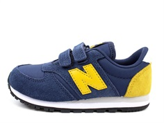 New Balance sneaker blue/yellow med velcro