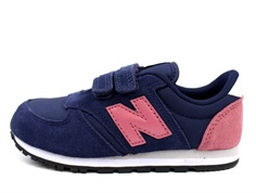New Balance sneaker purple/pink med velcro YV420YP