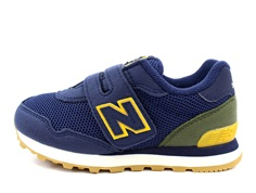 New Balance sneaker natural indigo/varsity gold