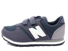 New Balance sneaker blue/grey/white med velcro