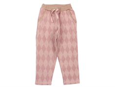 Noa Noa Miniature bukser Mini Harlequin ash rose