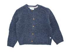 Noa Noa Miniature cardigan china blue uld/viskose/bomuld