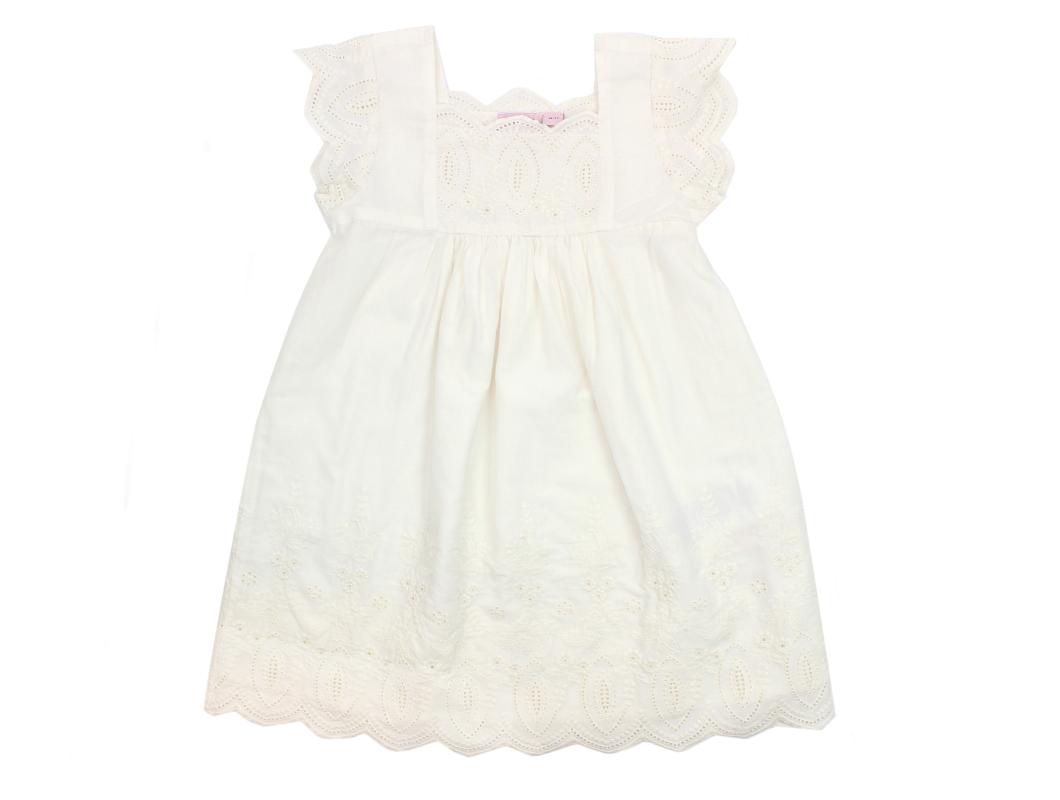 5609365f4bf Noa Noa Miniature kjole chalk | Mini Anglaise | UDSALG og gode tilbud