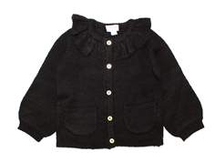 Noa Noa Miniature cardigan Boy Lamsa dark grey melange