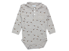 Noa Noa Miniature body grey melange kite