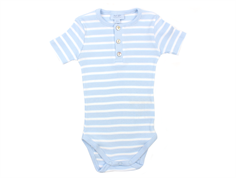 Noa Noa Miniature body rib faded denim striped