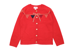 Noa Noa Miniature cardigan Castor ash rose red