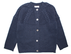 Noa Noa Miniature cardigan dress blue