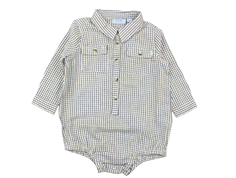 Noa Noa Miniature body Boy Check dress blue