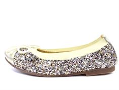 Petit by Sofie Schnoor ballerina gold med glimmer