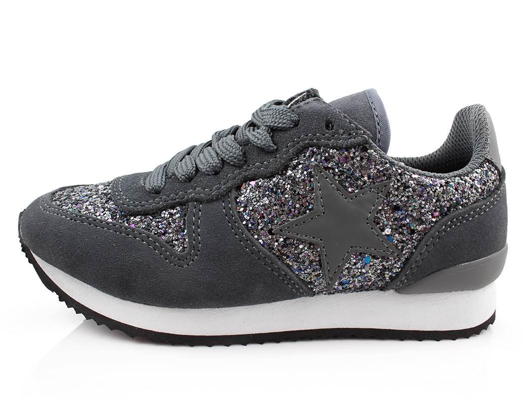be2fd23976cf Petit by Sofie Schnoor sneakers grå glimmer