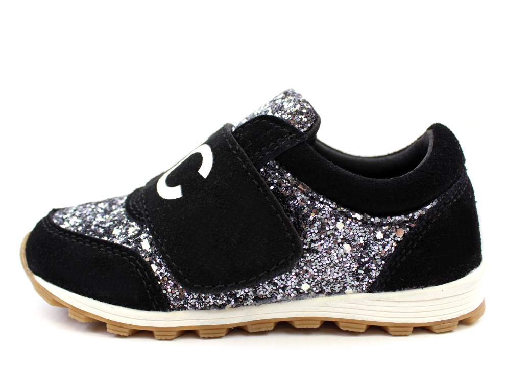 6fd134da5e0b NYC Petit by Sofie Schnoor sneakers sort med glimmer