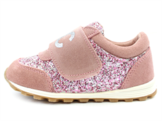 Petit by Sofie Schnoor sneaker dusty rose med glimmer