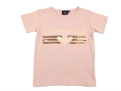 Petit by Sofie Schnoor t-shirt light rose glitter