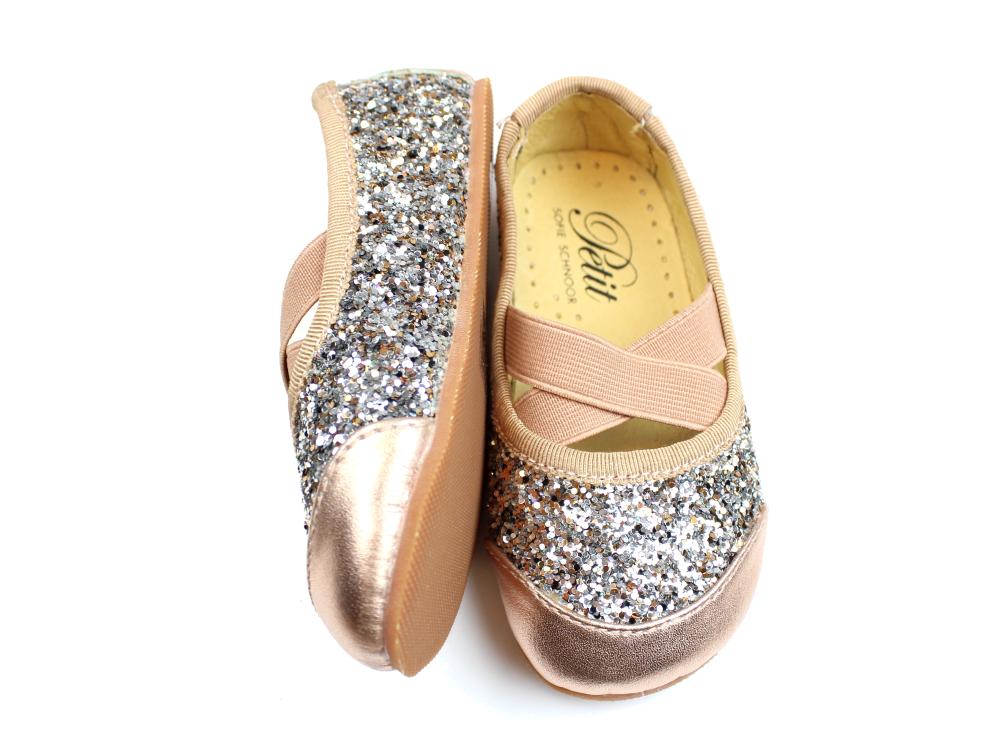 b592f416eec Petit by Sofie Schnoor ballerina gold mix glimmer   P816C peach ...