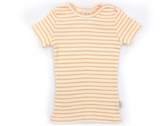 Petit Piao t-shirt peach naught/eggnog striber