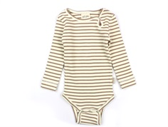 Petit Piao body natural/eggnog striber