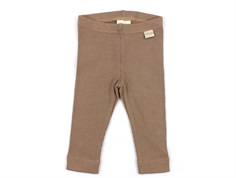 Petit Piao leggings natural
