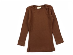 Petit Piao t-shirt modal bison brown