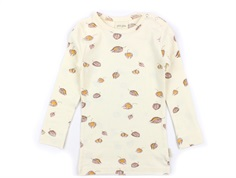 Petit Piao t-shirt pineapple cherry print